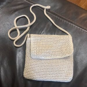 New Sak crossbody. Cream with a hint of sparkle.